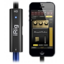 IK Multimedia Interfaz para Guitarra iRig HD, Alámbrico, Lightning