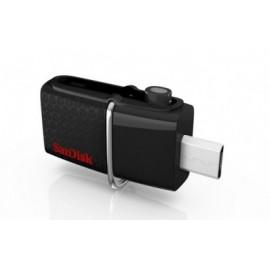 Memoria USB SanDisk Ultra Doble OTG, 16GB, USB  3.0