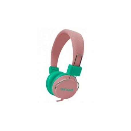 Ginga Audífonos GIN16DJHF-MV, Alámbrico, 3.5mm