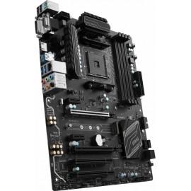 Tarjeta Madre MSI ATX B350 PC MATE, S-AM4, AMD B350, HDMI, USB 3.0, 64GB DDR4, para AMD