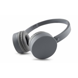 Energy Sistem Audífonos con Micrófono BT1, Bluetooth, Inalámbrico, Gris
