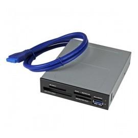 Startech.com Lector de Memoria Interno USB 3.0, para Tarjetas Memoria Flash con Soporte para UHS-II