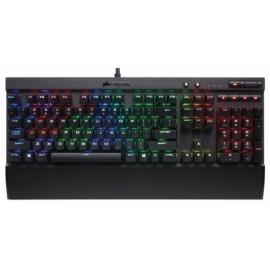 Teclado Gamer Corsair K70 RGB Rapidfire, Teclado Mecánico, Cherry MX Speed, Alámbrico, Negro (Español)