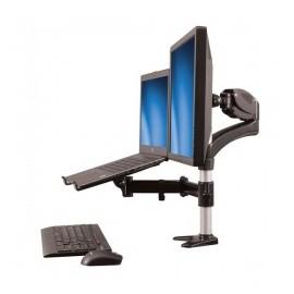 StarTech.com Soporte para Monitor 15-27 y Base para Laptop con Ajuste de Altura