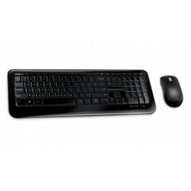 Kit de Teclado y Mouse Microsoft Wireless Desktop 850, Inalámbrico, USB, Negro (Español)