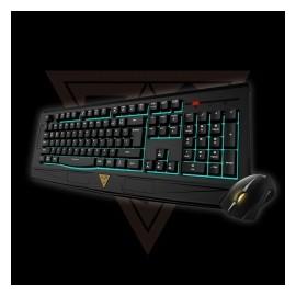 Kit Gamer de Teclado y Mouse Gamdias Ares 7 Color Combo Incluye Ares 7 Color  Ourea FPS, Alámbrico, USB, Negro (Inglés)