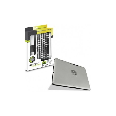 Teclado Point of View para Tableta, Bluetooth, Inalámbrico, Aluminio (Inglés)