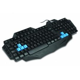 Teclado Gamer Xtech XTK-500S, Alámbrico, USB, Negro (Español)