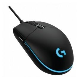 Mouse Gamer Logitech Óptico 910-004855, Alámbrico, USB, 12000DPI, Negro