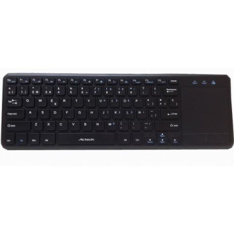 Teclado Acteck skp-500, Inalámbrico, USB, Negro (Inglés)