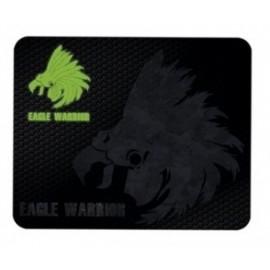 Mousepad Gamer Eagle Warrior, 32x26cm, Grosor 3mm, Negro