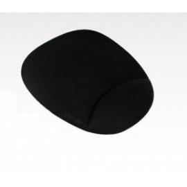Mousepad Vorago con Descansa Muñecas de Gel, 17.5x22cm, Negro