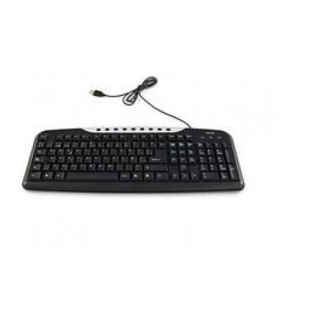 Teclado Verbatim 98109, Alámbrico, USB, Negro (Español)