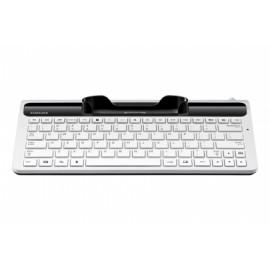 Teclado Samsung Dock de para Tablet EKD-K11LWE, Alámbrico, 1.2 Metros, Blanco (Inglés)