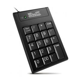 Klip Xtreme Teclado Numérico Abacus, USB, Negro