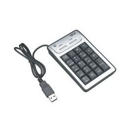 Tripp Lite Teclado Numérico KP3040, USB, Negro/Plata