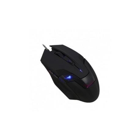 Mouse Gamer Eagle Warrior Óptico G15, Alámbrico, USB, 2400DPI, Negro