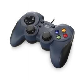 Logitech Gamepad F310, PC, Alámbrico, Negro Gris