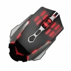 Mouse Gamer Naceb Láser NA-630, Alámbrico, USB, 2400DPI