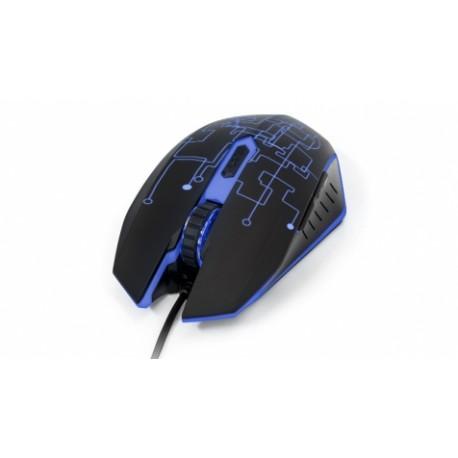 Mouse Gamer Vorago Óptico MO-501, Alámbrico, USB, 3200DPI, Negro