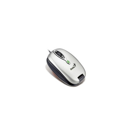 Mouse Genius Óptico Navigator 380, Alámbrico, USB, 1200DPI, Plata