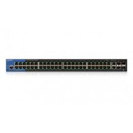 Switch Linksys Gigabit Ethernet LGS552P PoE, 50 Puertos