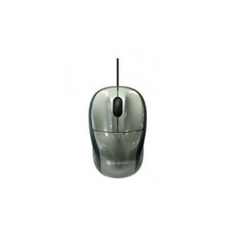 Mouse TechZone Óptico TZ15M22, Alámbrico, USB, 800DPI, Gris