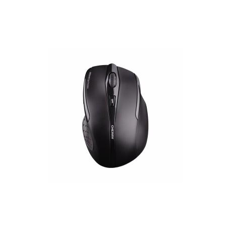 Mouse Cherry Óptico MW 3000, Inalámbrico, USB, 1750DPI, Negro
