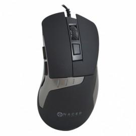 Mouse Naceb Láser NA-616, Alámbrico, USB, 2400DPI,