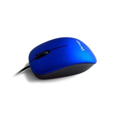 Mouse Vorago Óptico MO-206, Alámbrico, USB, 2400DPI, Azul