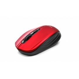 Mouse Vorago Óptico MO-305, Inalámbrico, USB, 2400DPI, Rojo