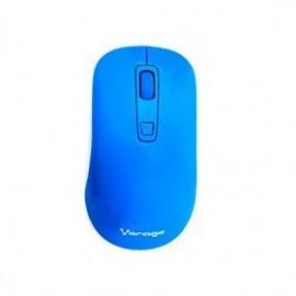 Mouse Vorago Óptico MO-207, RF Inalámbrico, 1600DPI, Azul