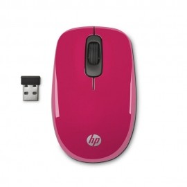 Mouse HP Óptico Z3600, RF Inalámbrico, 1200DPI, Rosa