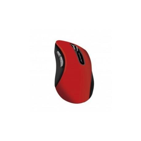 Mouse Acteck Óptico MI-600, Inalámbrico, USB, 1000DPI, Rojo