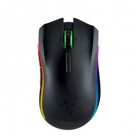 Mouse Gamer Razer Láser Mamba, Inalámbrico, USB, 16000DPI, Negro
