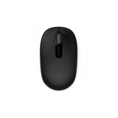 Microsoft Wireless Mobile Mouse 1850, Inalámbrico, USB, 1000DPI, Negro