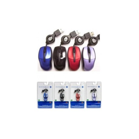 Mini Mouse General Electric Óptico V Colores 98, Alámbrico, USB, Azul