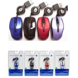Mini Mouse General Electric Óptico V Colores 98, Alámbrico, USB, Purpura