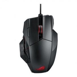 Mouse Gamer ASUS Láser ROG Spatha, Alámbrico Inalámbrico, USB, 8200DPI, Negro