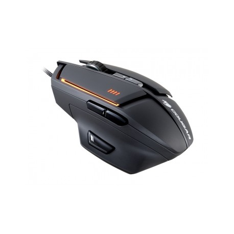 Mouse Gamer Cougar Láser 600M, Alámbrico, USB, 8200DPI, Negro
