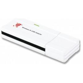 Encore Adaptador de Red USB ENUWI-N, Inalámbrico, WLAN, 300 Mbit
