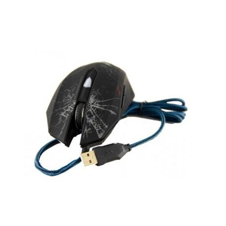 Mouse Gamer Havit Óptico HV-MS691, Alámbrico, USB, 2400DPI, Negro
