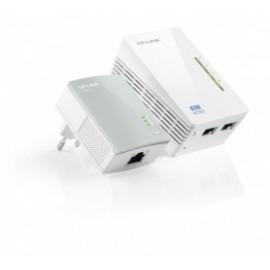 TP-LINK Kit Extensor Powerline AV500 TL-WPA4220KIT, Inalámbrico, 2x RJ-45, 300 Mbit