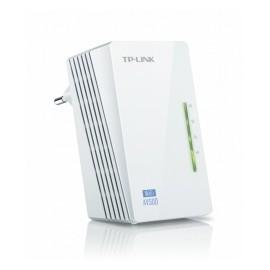 TP-LINK Extensor Powerline AV500 TL-WPA4220, Inalámbrico, 2x RJ-45, 300 Mbit