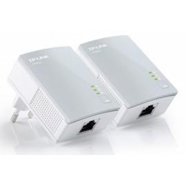TP-LINK Starter Kit del Adaptador Nano Powerline AV500 TL-PA4010KIT, 500Mbit