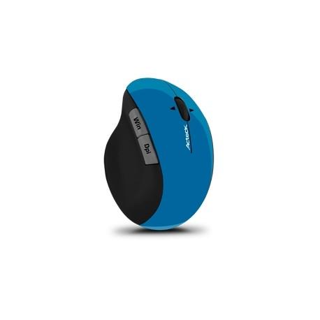 Mouse Acteck Óptico MI-750, RF Inalámbrico, 1600DPI