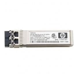 HPE Módulo Transceptor de Fibra SFP, 8000 Mbits, Multimodo, LC, 850nm, 4 Piezas
