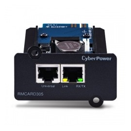CyberPower Tarjeta de Red SmartSlot, 2x RJ-45, 100 Mbit