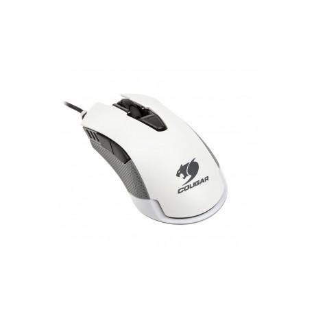 Mouse Gamer Cougar Óptico 500M, Alámbrico, USB, 4000DPI, Blanco