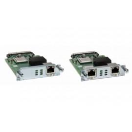 Cisco Módulo de Red de Voz NIM-2BRI-NT-TE, BRI, 2 Puertos, para Cisco 4000 ISR,